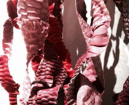 sheila - pink medusa- détail